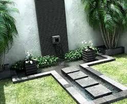 modern wall fountains outdoor