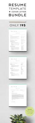 modern resume cover letter template editable word format modern resume cover letter bundle editable 3 page word document font