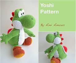 Yoshi Crochet Pattern