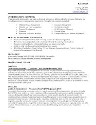 Sample Resume Qualifications Administrative Assistant Valid Sample
