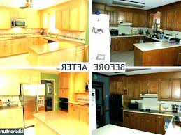Cost To Refinish Kitchen Cabinets Magnificent Painting Kitchen Cabinets Cost Spray Painting Kitchens Cost Sakam