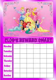 Disney Princess Behavior Chart 11 Best Photos Of Disney Princess Reward Chart Printable