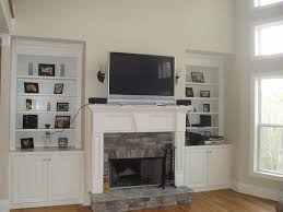 large size surprising fireplace mantel ideas with tv above photo design ideas