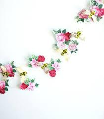 Paper Flower Backdrop Garland Paper Flower Garland Handmade Hanging Flower Beautiful Paper Flower