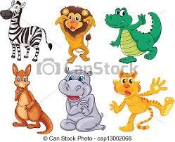 wild animals clipart. Wonderful Animals Wild And Scary Animals  Csp13002068 To Animals Clipart N