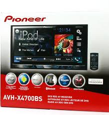 pioneer double din. pioneer avh-x4700bs double din cd/dvd receiver touchscreen 7\ pioneer