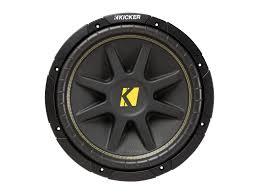 12 comp subwoofer 4 ohm dvc kicker®