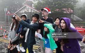 Steve Team Nicola Rhodes; Yuji Wong, 5; Harry Wong; John Rhodes;... News  Photo - Getty Images