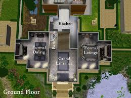 sims mansion floor plan mod president building plans for sims 2 floor plans