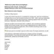 Job Reference Letter Sample Free 7 Job Reference Letter Templates