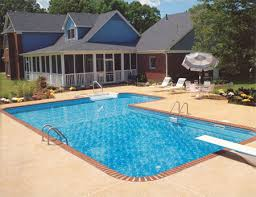 in ground pools rectangle. 4ft Radius Rectangle In Ground Pools 0