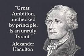 Alexander Hamilton Quotes Amazing Amazon Great Ambition Alexander Hamilton Quote Poster 48x48