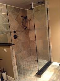 Barrier free tile shower in Traverse City Michigan