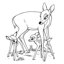 Leuk Voor Kids Bambi Kleurplaten