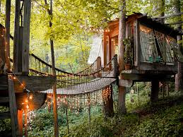 Tree House Hotel In The US Secluded Intown Treehouse  Tree House Treehouse Accommodation