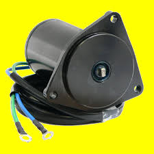 yamaha outboard motor trim tilt new power tilt trim motor yamaha outboard 40 50 60 70 90 hp 6h1 43880