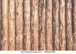 Rustic Wooden Background Logs Wooden Fence Stock Photo Royalty Free