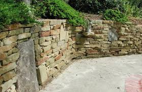 thinking about a natural stone retaining wall