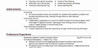 Sample Resume For School Counselor Examples High School Counselor Resume Design And Ideas Page 0