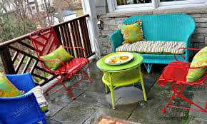amazing of painting patio furniture ideas spray painting metal outdoor furniture landscaping gardening ideas