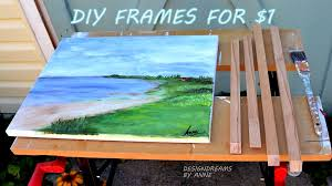 terrific diy frames for canvas 16 about remodel interior design ideas with diy frames for canvas