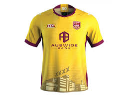 QLD Maroons Training Rugby Jersey 2020