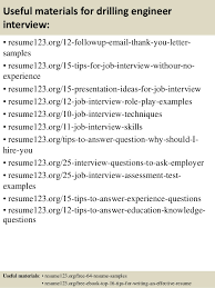 Drilling Engineer Sample Resume Simple Top 40 Drilling Engineer Resume Samples