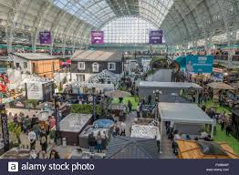 Ideal Home Exhibition Olympia London England Stock Photo Royalty