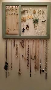 DIY Jewelry Organizer for $25