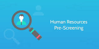 Human Resources Pre Employment Screening Process Street