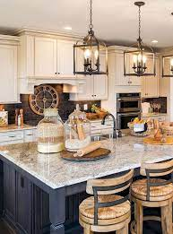 65 Beautiful Modern Farmhouse Kitchen Makeover Decor Ideas