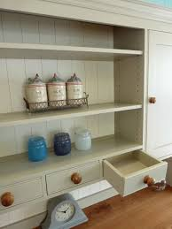 Kitchen Dresser Painted Kitchen Dresser Solid Wood Painted Made To Measure