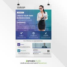 Business Poster Design Professional Corporate Poster Design By Fidanselmani On