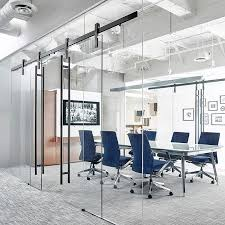 office conference room design. ofs designed their glasswalled conference rooms to have two wide entries the ragnar sliding door hardware means space wonu0027t affect room flow and can office design e