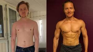 how to go from skinny fat to ripped