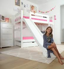 bunk beds with slides for girls. Delighful Girls So The Cute Low Loft With Slide You Start Them Out Can Be Changed Over  Time To Become Any Of Our Maxtrix Combinations Throughout Bunk Beds With Slides For Girls D