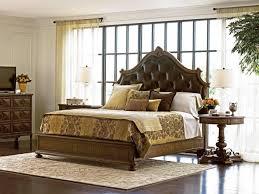 Stanley Bedroom Furniture Stanley Furniture Villa Fiora Traditional King Upholstered Panel