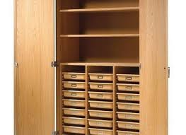 amazing wood storage cabinet with doors com lde leslie dame leslie dame cd 612c solid oak multimedia classic mission