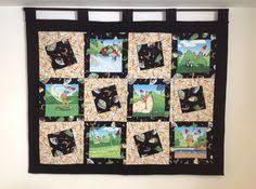 Karen Eckmeier golf quilt | Golf Quilts | Pinterest | Golf quilt ... & Golf quilt wall hanging. This fun wall hanging quilt is the perfect decor  for home Adamdwight.com
