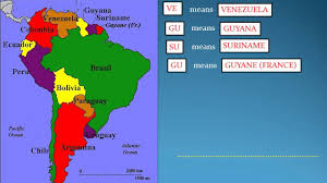 How To Remember World Map Part 1 South American Countries Youtube