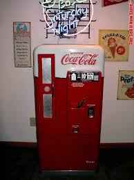 Soda Vending Machine For Sale Delectable Vintage CocaCola Vendo 48 Soda Vending Machine V48