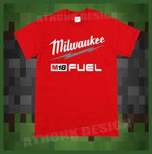 Milwaukee Die Chart Milwaukee M18 Mens Short Sleeve T Shirt Sizes S 3xl T