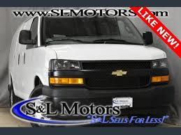 used 2018 chevrolet express 2500