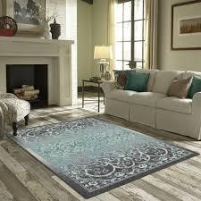 carpet 5x8. landen grey/blue area rug carpet 5x8 i