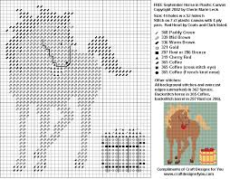 Free Plastic Canvas Patterns To Print Unique FREE Plastic Canvas September Horse Of The Month Pattern From Craft