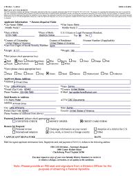 Criminal Record Template Fbi Form Ohye Mcpgroup Co