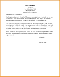 Janitorial Resume Spa Assistant Cover Letter