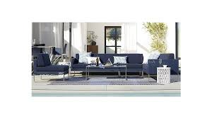 dune outdoor furniture. Dune Armless Chair With Sunbrella Cushions Crate And Barrel Outdoor Furniture