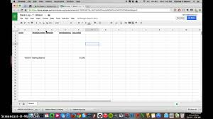 Create A Bank Log Ledger Sheet In Google Sheets