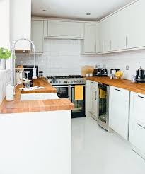 designs for u shaped kitchens. image credit: lizzie orme. turn a galley kitchen into u-shaped designs for u shaped kitchens
